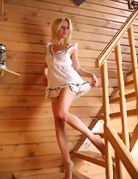 White slip hot teen girl naked