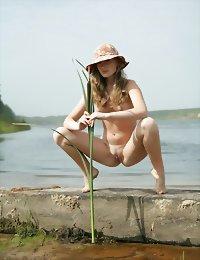 Wild beach cute girl nudes