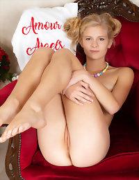 Stunning girl gets naked